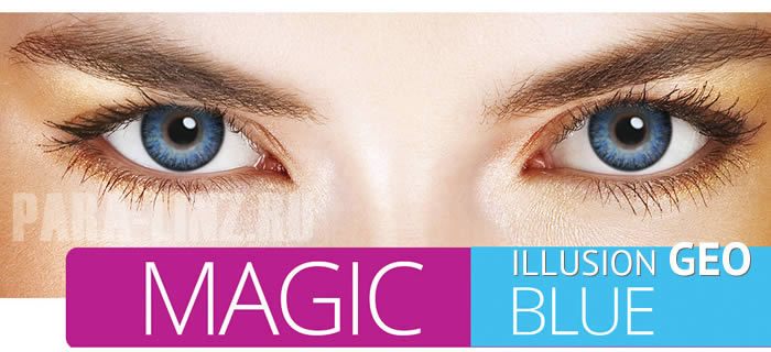 ILLUSION GEO - Magic Blue