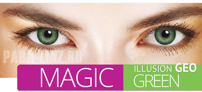 ILLUSION GEO - Magic Green