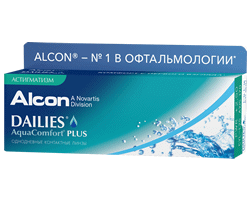 Dailies AquaComfort Plus for Astigmatism (30 линз)